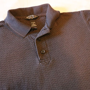 Diport Short Sleeve Gray Men's Polo